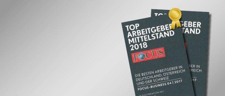 """TOBLER – AUSGEZEICHNET ZUM """"TOP ARBEITGEBER 2018"""""""